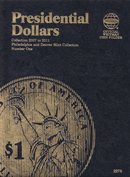 Presidential Dollar Folder Volume I