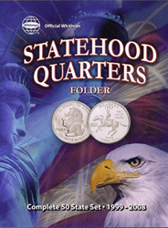 Official Whitman Statehood Quarters Folder 1999 - 2009