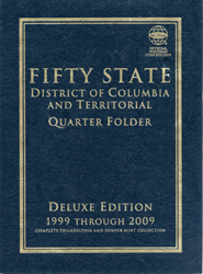 Quarter Coin Folder Whitman 50 State & Territories