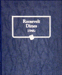Roosevelt Dimes Whitman Coin Album whitman roosevelt dimes coin album 3394