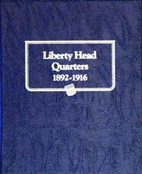 Whitman Liberty Head Quarters Album 1892 - 1916