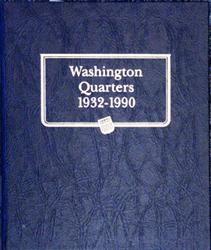 Whitman Washington Quarters Album 1932 - 1990