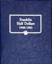 Franklin Half Dollars Whitman Coin Album Franklin Half Dollars Whitman Coin Album, Whitman, 9126
