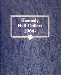 Kennedy Half Dollars Whitman Coin Album 1964 to 2002
