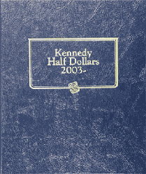 Whitman Kennedy Half Dollar Coin Album 2003 - 2018