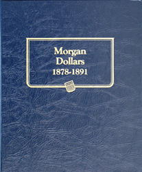 Morgan Dollars Whitman  Coin Album 1878 Morgan Dollars Whitman  Coin Album 1878, Whitman, 9128