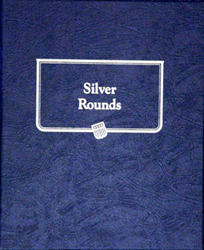 Silver Rounds Whitman Coin Album Silver Rounds Whitman Coin Album, Whitman, 9150