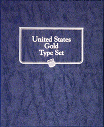 Whitman United States Gold Type Set Coin Album