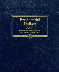 Presidential Dollar Whitman Coin Album P&D Presidential Dollar Whitman Coin Album P&D, Whitman, 0794822274