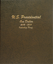 Presidential Dollars with Proofs 2012 - Vol. 2 - Dansco Coin Album 8185 Presidential Dollars w/ Proofs Vol. 2 Dansco Coin Album, Dansco, 8185