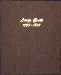 Large Cents - Dansco Coin Album 7099 Large Cents Dansco Coin Album , Dansco, 7099