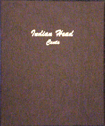 Indian Head Cents - Dansco Coin Album 7101 Indian Head Cents Dansco Coin Album , Dansco, 7101
