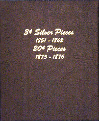 3c Silver Pieces and 20c Pieces - Dansco Coin Album 6109 3c Silver Pieces and 20c Pieces Dansco Coin Ablum , Dansco, 6109