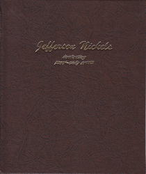 Jefferson Nickels w/ Proofs Dansco Coin Album
