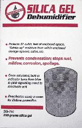 """750 Gram Silica Gel Unit Desiccant 4x6"""" 750 Gram Silica Gel Unit Desiccant, Hydrosorbent Dehumidifiers, SG-750"""