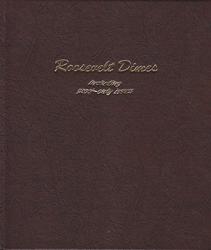Roosevelt Dimes w/ Proofs Dansco Coin Album