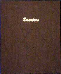 Quarters Plain - Dansco Coin Album 7137 Quarters Plain Dansco Coin Album , Dansco, 7137