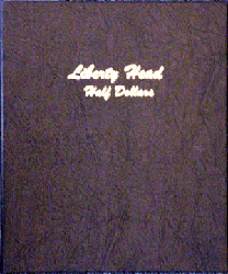 Liberty Head Half Dollar - Dansco Coin Album 7150 Liberty Head Half Dollar Dansco Coin Album , Dansco, 7150
