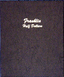 Franklin Half Dollars - Dansco Coin Album 7165