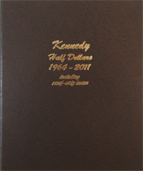 Kennedy Half Dollars Proofs Dansco Coin Album 8166