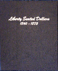 Liberty Seated Dollars Dansco Coin Album