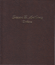 Susan B. Anthony Dollars Dansco Coin Album
