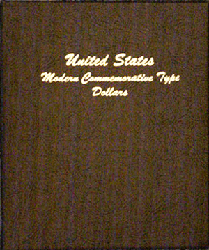 Modern Commemorative Type Dollar - Dansco Coin Album 7062 Modern Commemorative Type Dollar Dansco Coin Album , Dansco, 7062