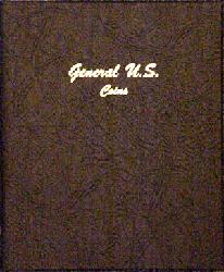 General US Coins Plain - Dansco Coin Album 7080 General US Coins Plain Dansco Coin Album , Dansco, 7080