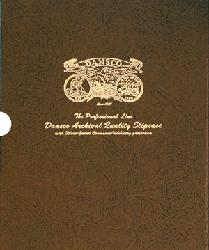 "3/4"" Dansco Coin Album Slipcase 3/4"" Dansco Coin Album Slipcase, Dansco,"