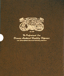 "1 1/8"" Dansco Coin Album Slipcase 1 1/8"" Dansco Coin Album Slipcase, Dansco,"