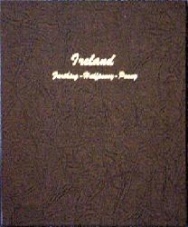 Ireland farthing-1/2d-1d Farthing - Dansco Coin Album dansco 7371, coins, ireland, farthing, halfpenny, half-penny