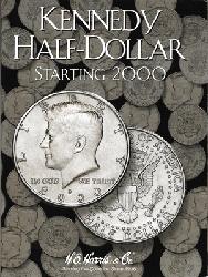 HE Harris Kennedy Half Dollar 2000-Date Coin Folder