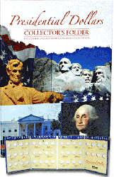Presidential Dollar Collectors Folder Volume I 7x9.5 Presidential Dollar Collectors Folder Volume I, HE Harris & Co, 0794822797