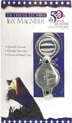 16X Pocket Magnifier H.E. Harris Loupe 16X Pocket Magnifier US Mint, HE Harris & Co, 90921232