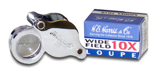 10X Pocket Folding Coin Magnifier