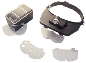 Versatile Illuminated Headband Magnifier Versatile Illuminated Headband Magnifier, CS Express, ELP-550.00