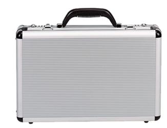 """Aluminum Attache Case 18""""x13""""x5"""" Aluminum Attache Case, Transworld, AL053"""