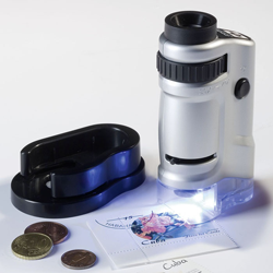 Lighthouse Zoom Microscope with LED