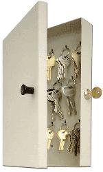 14 Key Hook-Style Key Cabinet 11.5x7.75x2 14 Key Hook-Style Key Cabinet, MMF, 201201489