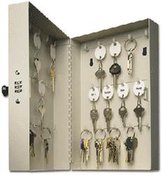 28 Key Hook-Style Cabinet