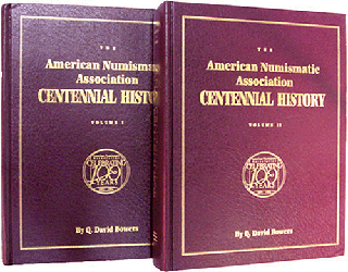 ANA Centennial History, The, 1st Edition  ISBN:0943161290 ANA Centennial History, The, Bowers and Merena Galleries, 0943161290