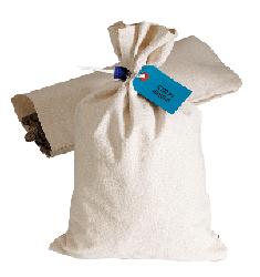 Heavyweight Duck Cloth Money Bag - 8.5x14