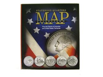 State Quarter Collector's Map Cover