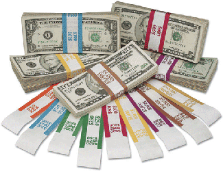Currency Straps $500