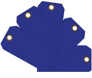 """Plain ID Tags 2-3/8"""" x 4 3/4"""" Plain ID Tags, MMF, 210071708"""