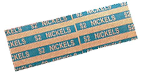 Flat Nickel Coin Wrappers Flat Nickel Coin Wrappers, MMF, 216020008