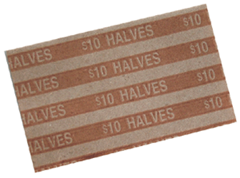 Flat Half Dollar Coin Wrappers Half Dollar Flat Half Dollar Coin Wrappers, MMF, 216020003