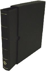 Vario-F, 3 O-Ring Binder and Slip Case - Black Vario Ring Binder and Slip Case - Black, Lighthouse, VARIOF - Black