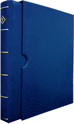 Vario-F, 3 O-Ring Binder and Slip Case - Blue Vario Ring Binder and Slip Case - Blue, Lighthouse, VARIOF - Blue