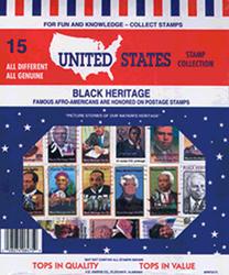 Black Heritage US -- 15 Stamps
